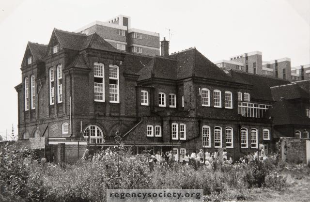 Ellen Street School 1973 | Image reproduced with kind permission of The Regency Society and The James Gray Collection