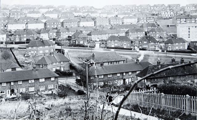 Whitehawk in the 1970s | Image reproduced with kind permission of The Regency Society and The James Gray Collection