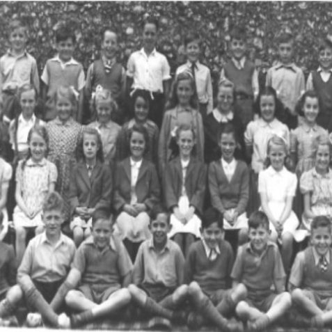 Mr. Eastwood's class, St.Nicholas School, Portslade 1950ish   From the private collection of Bonny Cother