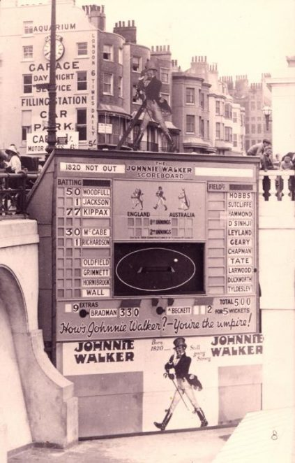 Cricket scoreboard | From a private collection