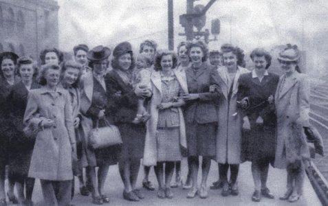 Part 13: War brides leaving Brighton