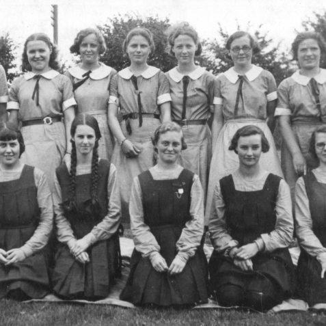 Varndean School circa 1936 | Wedlock family print