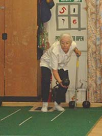The 50-plus club: the bowls team