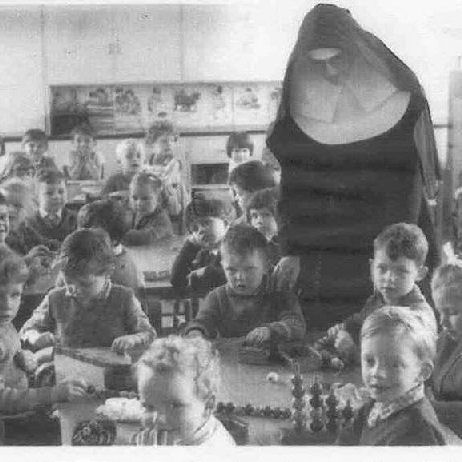 St Joseph's infants | From the personal collection of Jozef Kis