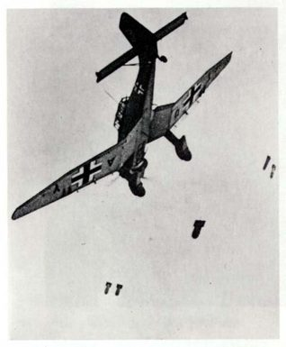 German plane in WWII | From the private collection of Peter Bourne