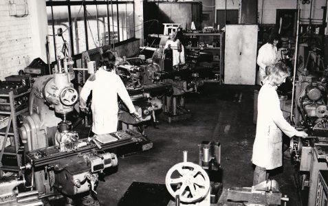 Kearney & Trecker Marwin Apprentices 1974/5