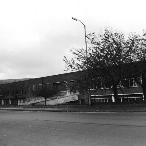 KTM No 2 Factory Hollingbury Brighton c. 1985   Photo by Hugh Fermer, now in the private collection of Peter Groves