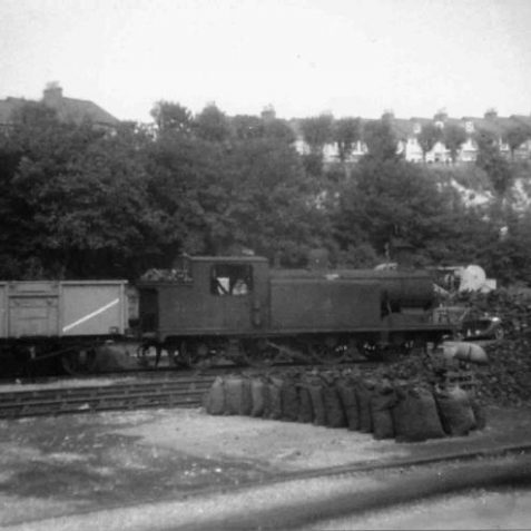 Kemp Town Station about 1953   Photo from the private collection of John Leach