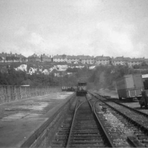 Kemp Town Station about 1953   From the private collection of John Leach