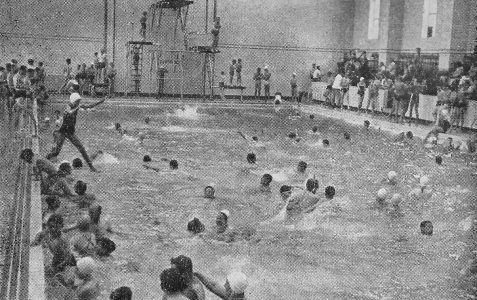 The major pool photographed c1950