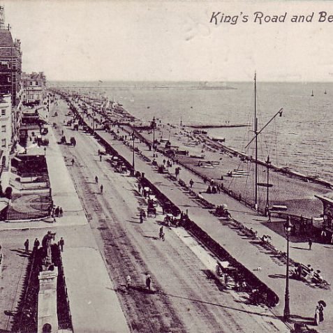 King's Road looking east, 1911 | From the private collection of Tony Drury
