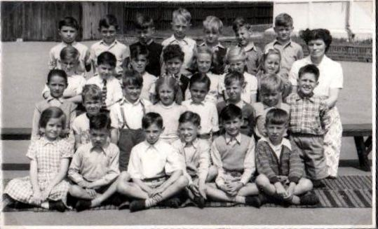 Class photograph c1952/53 | From the private collection of Nickie Preston