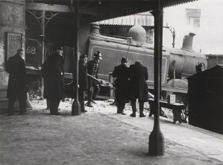 The goods train crash | Photo from the private collection of  Beryl Tucknott