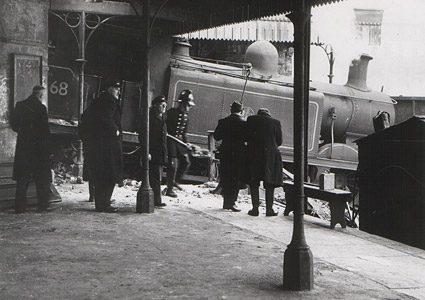 Goods train crash in 1963