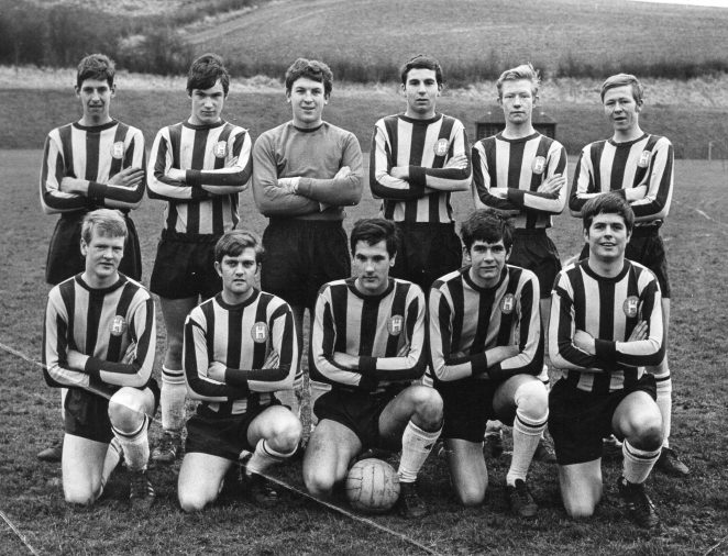 Sussex Sunday League Cup Final team | From the private collection of Ken Hill