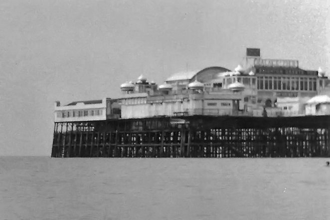 Palace Pier photographed from Dalton's Beach | Photo by Ken Ross