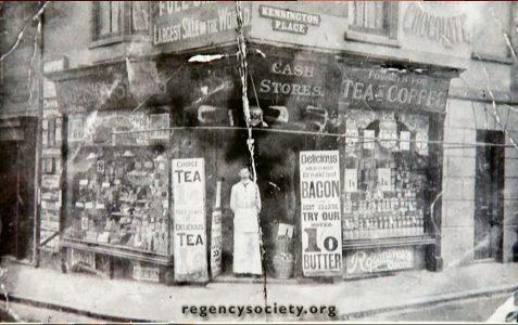 Kensington Place/Trafalgar Street
