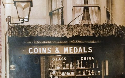 Coins and medals in The Lanes?