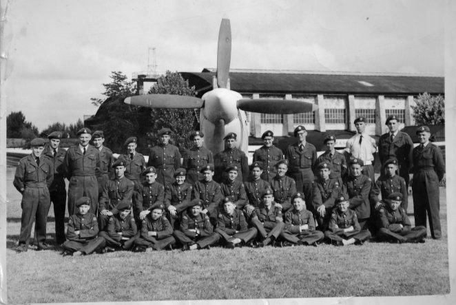 Air Training Squadron 2278 at RAF Duxford. | From the private collection of Mike Pusey