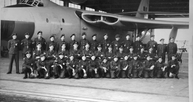 Air Training Squadron 2278 at at RAF Honnington. | From the private collection of Mike Pusey