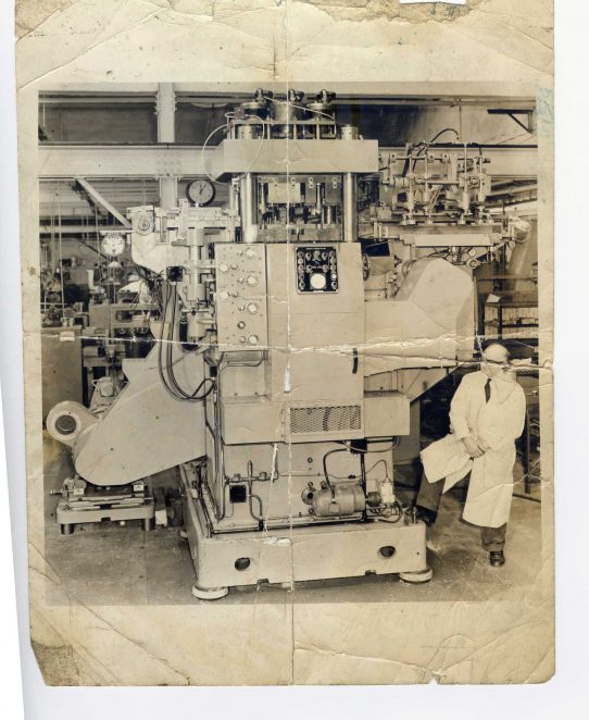 Kearney & Trecker 100 ton press | From the personal collection of John KnightLyn Ford