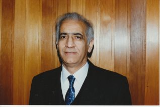 Habibollah Mohebati on his 60th birthday shortly before he died | Contributed to the Letter in the Attic by Farangiz Khavari Mohebati