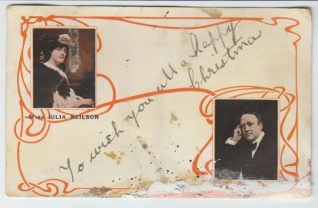 Front of postcard from Annie Hammond, 4th Dec 1904 | Contributed to the Letter in the Attic by Hannah Marshall-Quinn