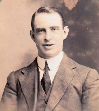 Arthur Collins aged approximately 30 years old, c1913 | Contributed to Letter in the Attic by Joyce Collins