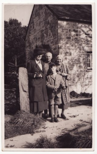 Photograph of group including Muriel Jervis (on the right) taken in 1951 | Contributed to the Letter in the Attic by Francis Clark Lowes
