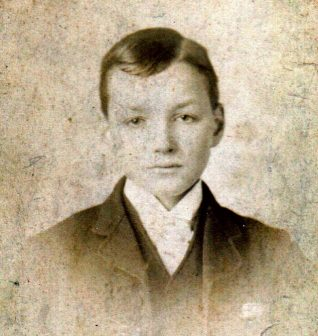 Photograph of William Griffiths, presumed to be aged about 17 | Contributed to the Letter in the Attic by Ronda Gregory