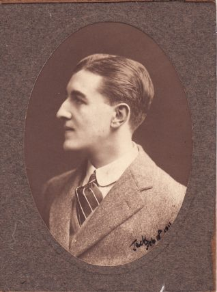 Photo of Jack Bethell at the age of 21, 1911 | Contributed to Letter in the Attic by Eve Bracegirdle