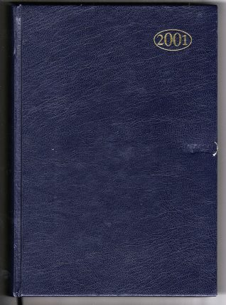 Diary of Mark Bracewell, 2001 | Contributed to Letter in the Attic by Mark Bracewell