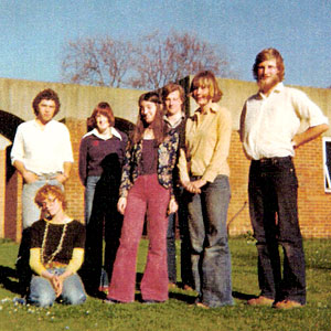 Group of Sussex students, 1977-78 | From the Letter in the Attic project