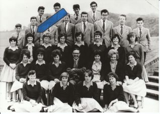 Photo of Beryl Payne with her classmates, c.1961 | Contributed to the Letter in the Attic by Beryl Payne