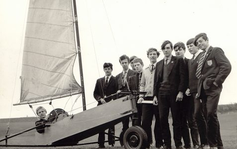 Mr Mormon's Land Yacht c1964