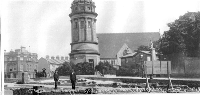 The 'Pepper Pot' at Queen's Park | From the private collection of Eric Feast