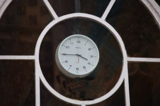 Mystery Clock number four   Photo by Tony Mould