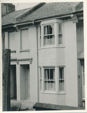 Two storey terraced house | From the private collection of Barrie Searle
