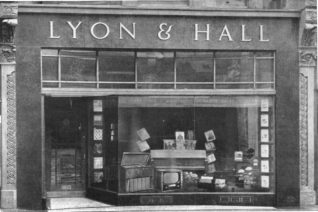 Lyon & Hall where I bought my records | From the private collection of Andy Grant