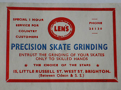 Photo of a sign for Len's Engineering