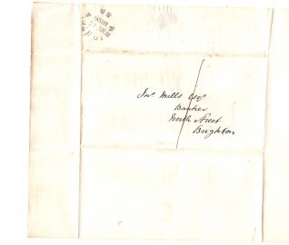 Envelope for letter | From the private collection of Jan Hill