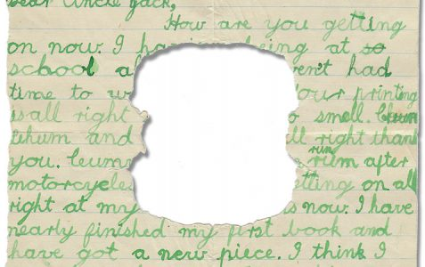Letter in the Attic online exhibition