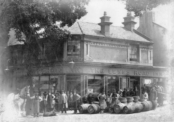 The Lewes Road Inn c1900s | From the private collection of Councillor Geoffrey Wells