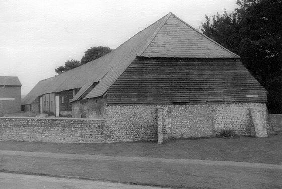 Long barn near All Saints Church, Patcham. c1960 | Photo sent by Martin Nimmo 25-01-03