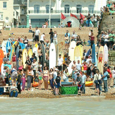 2007 Paddlers | Sean Clark / underwaterimage.co.uk