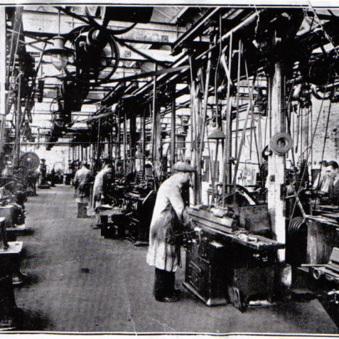 Machine Shop 1920's   From the private collection of Peter Groves