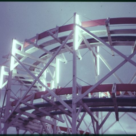 A Madeira Drive fairground ride (arty stuff!) | Photo by David Fisher