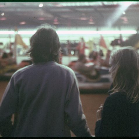 Watching the dodgems | Photo by David Fisher