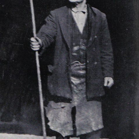 Blacksmith with Pyecombe Crook, used by shepherds on the Downs near Brighton | From the private collection of Peter Groves