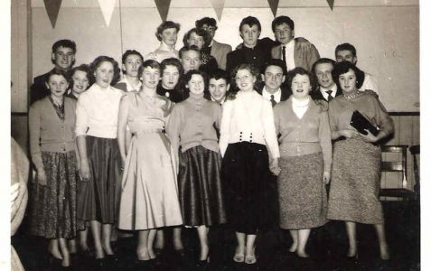 Manor Farm Youth Club 1954